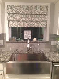 no sew drapes over sink tension rods fake roman shades dream