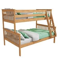 Oxford Triple Bunk Bed In Pine Small Double Furniture - Double double bunk bed