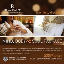 memorial gallery rochester ny visitor hotel packages