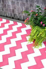 Pink Indoor Outdoor Rug Fuchsia White Indoor Outdoor Dash Albert Rug Company