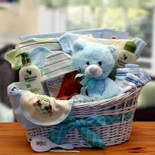 new gift baskets new baby gift baskets deluxe organic new baby boy gift basket