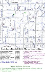 Map Of Counties In Illinois by Tonti Township Marion County Illinois