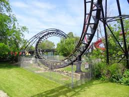X Flight At Six Flags Six Flags Great America July 2015 Update Coaster101