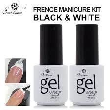 popular gel nail french manicure buy cheap gel nail french
