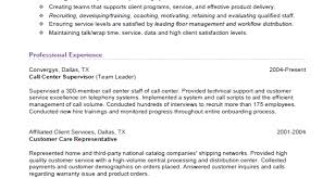 Call Center Supervisor Resume Sample by Call Center Supervisor Resume Sample Call Center Supervisor Resume