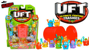 trash pack uft 12 pack review unboxing ultimate fighting trashies