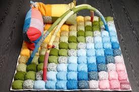 tappeti fai da te tappeto di patchwork progetti foto