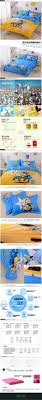 100 cotton twin king bedding sets minions cartoon bedding set