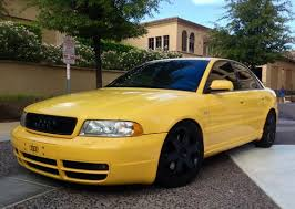audi b5 s4 stage 3 sell used 2000 audi s4 b5 imola yellow stage 3 k 04 turbos