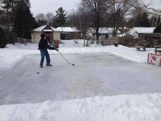 How To Build A Backyard Ice Rink by Homeboni Assembly Jpg 735 938 Winter Fun Pinterest