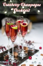 the 25 best cranberry champagne cocktail ideas on pinterest