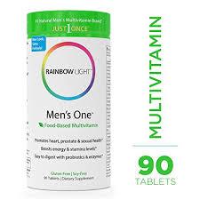 rainbow light vitamins mens rainbow light men s one multivitamin probiotic enzyme and