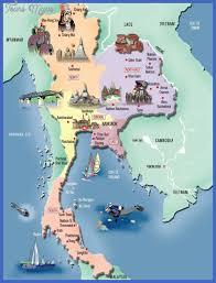 map of thailand thailand map tourist attractions toursmaps