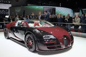 custom bugatti first and last bugatti veyron built share the stage in geneva