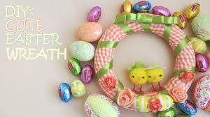 diy cute easter wreath youtube