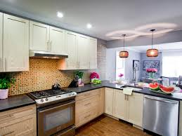 Colors For Kitchen Cabinets And Countertops Refinishing Kitchen Cabinet Ideas Pictures U0026 Tips From Hgtv Hgtv