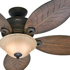 leaf ceiling fan with light hunter fan 54 outdoor ceiling fan with toffee glass light kit 5