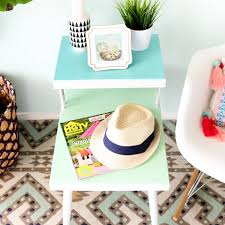 Diy Side Table Easy Diy Side Tables For Your Living Room Home Brit Co