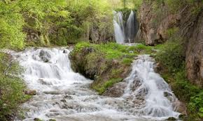 South Dakota waterfalls images Roughlock falls spearfish south dakota alltrips jpg