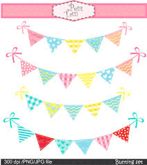 Pretty Bunting Flags Flag Clipart Cute Pencil And In Color Flag Clipart Cute