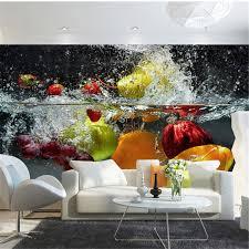 custom photo wallpaper 3d fruit large mural cafe juice drinks shop