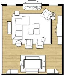livingroom layouts furniture arranging tricks paths scale and window