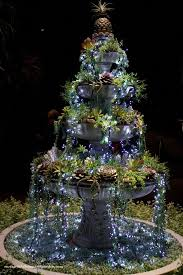 Hard Plastic Christmas Decorations Outdoors Best 25 Christmas Garden Ideas On Pinterest Christmas Garden