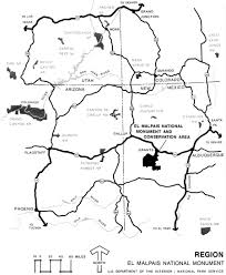 Arizona On Map El Malpais In The Land Of Frozen Fires Chapter 9