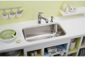 Elkay Stainless Steel Kitchen Sink by Faucet Com Eguh281610r In Stainless Steel By Elkay