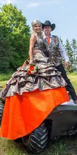 camo and orange wedding dresses 9 camo wedding dresses for the modern thinking outside the