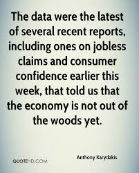 Jobless Claims by Anthony Karydakis Quotes Quotehd
