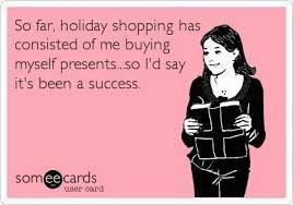 Christmas Shopping Meme - a little bit extra this holiday season moreisbetter brooklyn