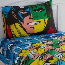 Ebay Twin Beds 3pc Marvel Avengers Twin Bed Sheet Set Comic Book Hulk Thor