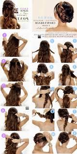 download hairstyle tutorial videos braid halfup half hairstyle tutorial video spring easy down