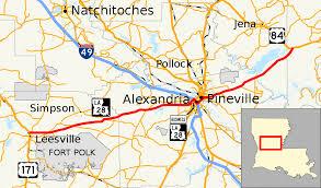 La Traffic Map Louisiana Highway 28 Wikipedia