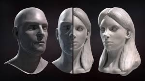 Male And Female Anatomy Differences Zbrush Tutorial Now Available Sculpting Male And Female Faces