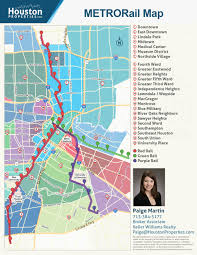 Metro Redline Map Houston Metro Rail Map Neighborhoods Near Metrorail