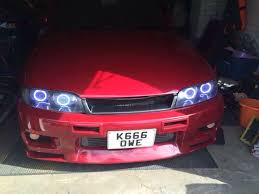 custom nissan skyline r32 used custom skyline r32 headlights in pe19 cambridgeshire for