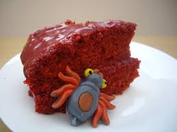 caramel monster cake
