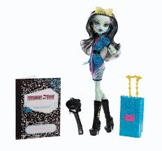 Spirit Halloween Monster High by Amazon Com Monster High Travel Scaris Frankie Stein Doll Toys