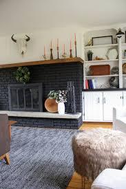 Black Paint For Fireplace Interior Best 25 Black Fireplace Ideas On Pinterest Black Brick