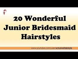 junior bridesmaid hairstyles 20 wonderful junior bridesmaid hairstyles