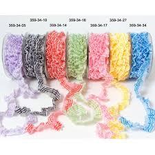 elastic ribbon by the yard may arts 3 4 elastic plaid ruffle by the yard the st simply