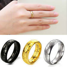lord of the rings wedding band stylish lotr wedding ring winning lord of the rings ebay wedding
