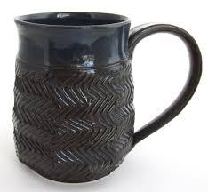 unique coffee mug unique coffee cup blue mug dark blue coffee