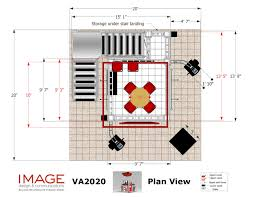 two story trade show booth rental va2020