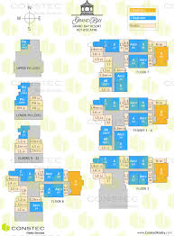 grand bay resort site plan key plan key biscayne floor plans