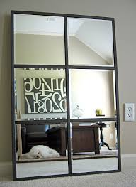 Big Wall Mirrors by Unique Simple Wooden Wall Mirror For Living Room Home Depot