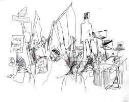 egyptian solidarity rally in nyc u2013 veronica lawlor