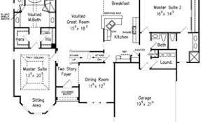 dual master bedroom floor plans dual master house plans dual master homes dual master floor plans